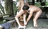 Latino cowboy takes his man