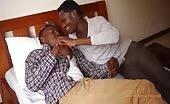 De zwarte jongens Jabari en Nadir