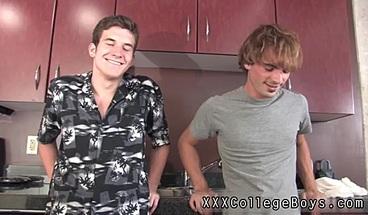 Gay boy twins sex xxx Blake is semi rigid by the